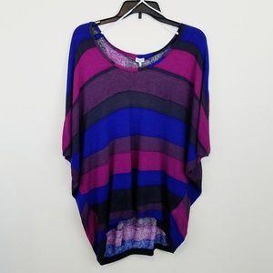 Splendid Color Block Knit Top Small #E151